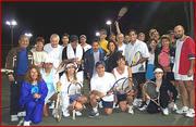 Friday Night Tennis in Plantation Central Park