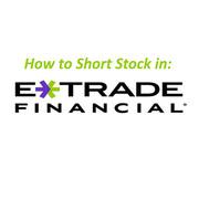 E*Trade Short Sales