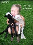 Vegan Messages of Love for Children