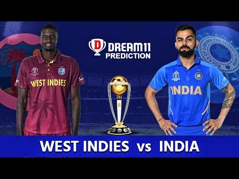 India vs West Indies Probable Playing XI & Dream11 Team | #CWC2019