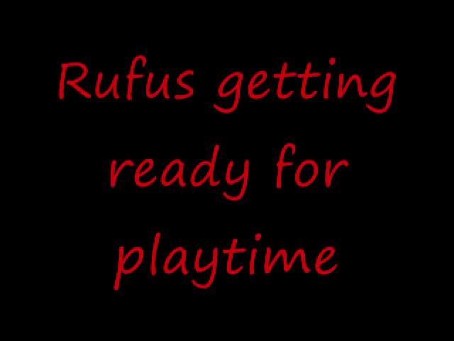 Rufus' first movie...kinda