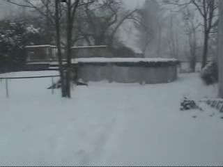 D's first snow