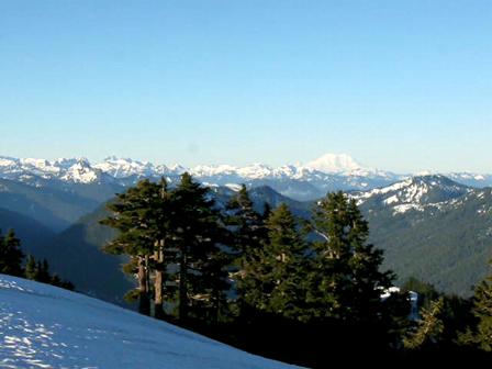 Morning summit view 6/12/10