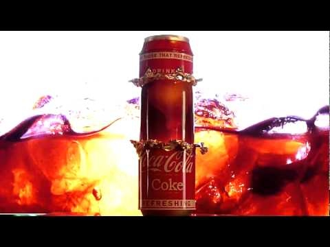atomik lava lamp coca cola