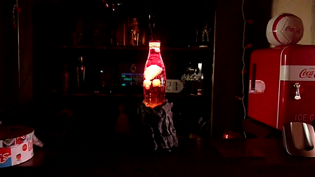 The DartG Lava Lamp Coca Cola