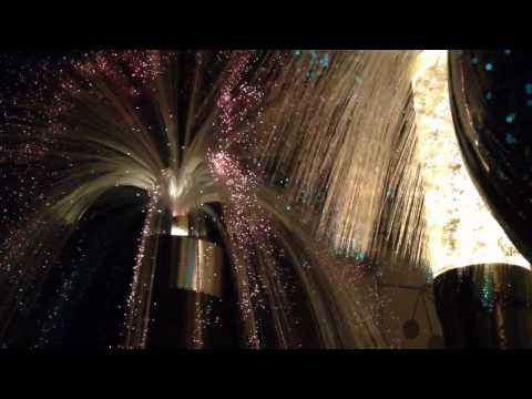 Fantasia Fiber Optics and Florence Art Glitter Lamp