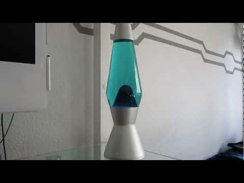 Lava Lamps Part 1: Mathmos Astro Blue/Blue at Daytime
