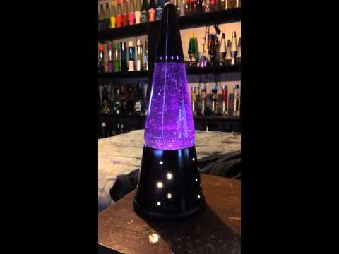 Touch sensitive lava lamp