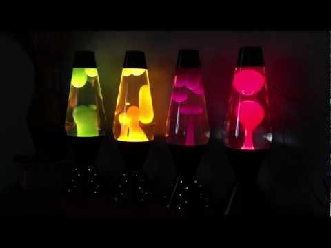 NEON Lava Lamps *Video*