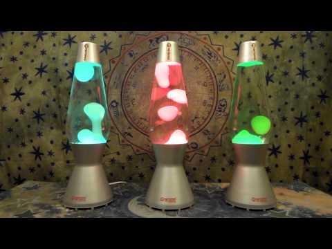 Mathmos Astro with Color Bulbs