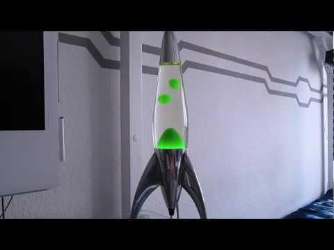 Lava Lamps Part 3: Mathmos Telstar Clear/Green at Daytime