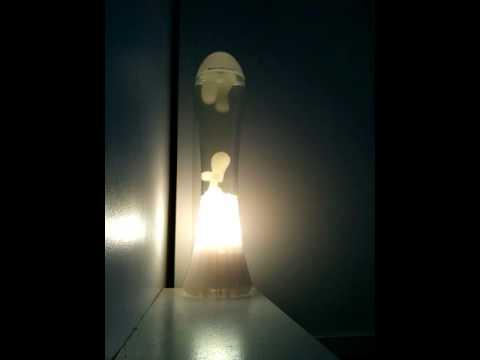 mathmos fluidium rare lava lamp opal lava ross lovegrove time lapse