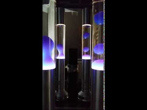 Cool Lava Lamps at full steam, 5 minutes played at 4x speed