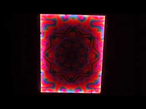 Lenticular with custom led frame.