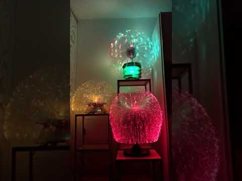 Fibre optic lamps