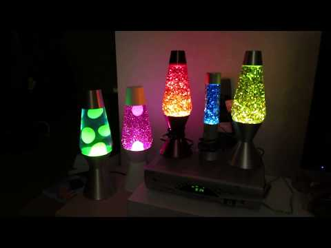 Lava Lamp, Glitter Lamps & Surprise