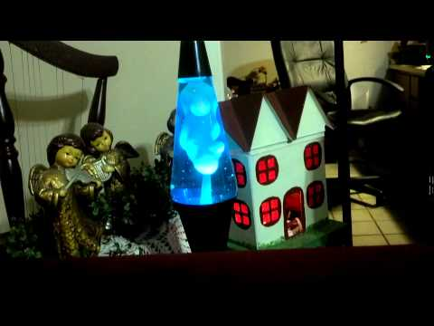 Mom's lava lamp.