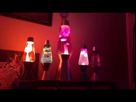 Lava lamp time lapse