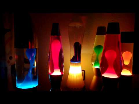 Mathmos Lavalamps Flow'n'Glow
