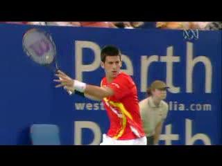 Djokovic's Extreme Western Forehand Grip