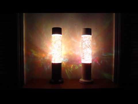 Deuling Custom Rainbow Glitter Lamps