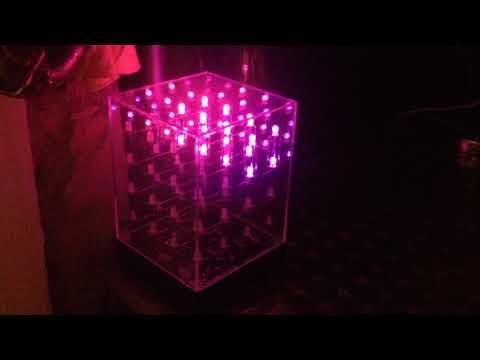 LED Hypno-Cube