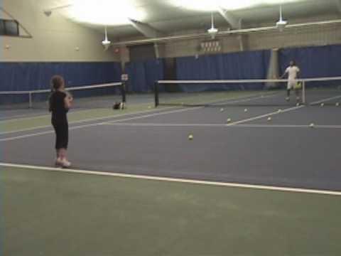 Tennis Tips - Abby's Forehand