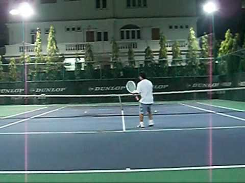 Counter the Low Slice to the Semi Western Forehand