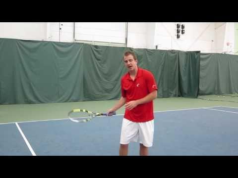 David Emery's Tennis Tip - Strike Zone