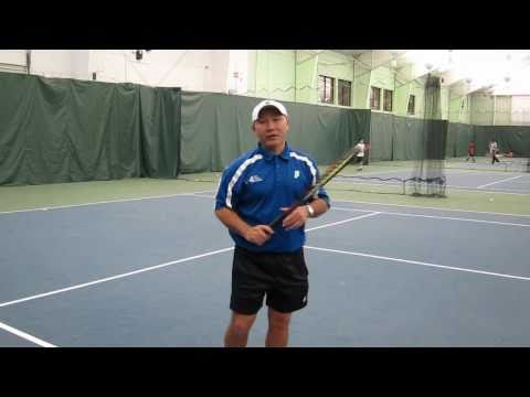 KB Tennis Tip - Clear the left hand