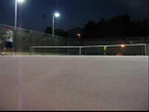 Tennis Rally Video