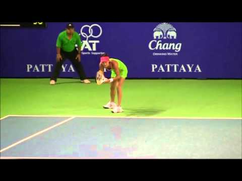 Kimiko Date Krum WTA Pattaya Feb 2011