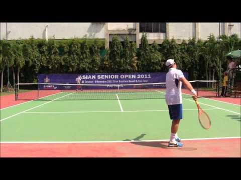 ITF Asia Open Super Dan vs Dan the ONE pt 5 Men's 35's Final