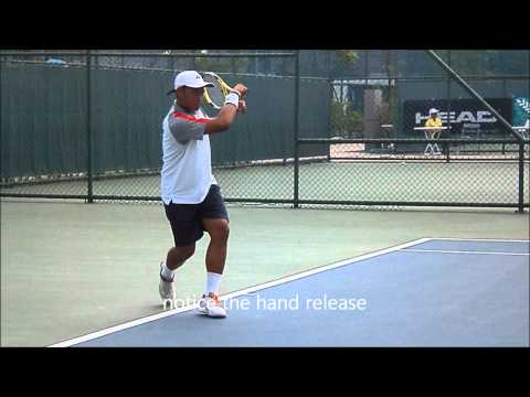 two handed forehand thai nationals