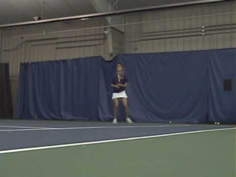 Tennis Lessons - Yomali's Backhand 112109