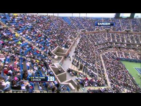 Serena Williams outburst @ US OPEN final 2011