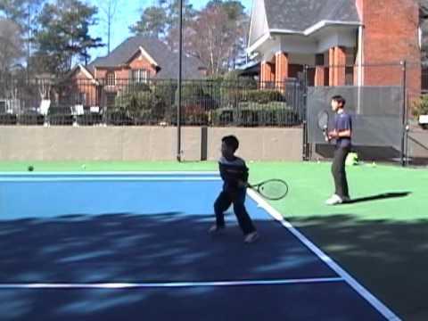 CoachV Tennis Atlanta GA Backhands Tips