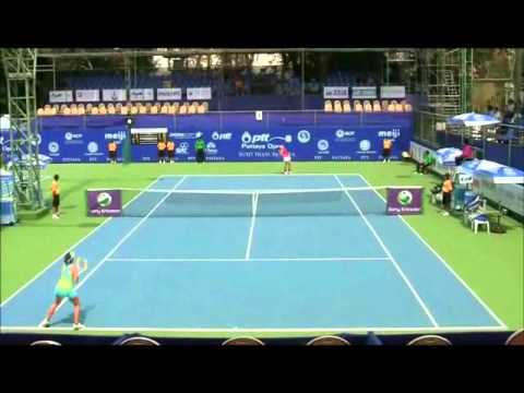Pattaya WTA Feb 2011:  Sun vs Fuda