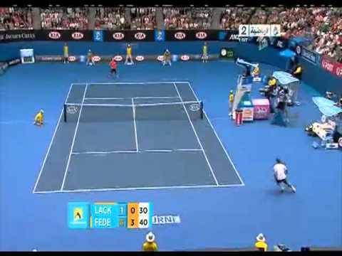 Australian Open 2011: federer first round highlights