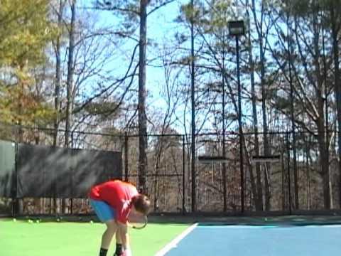 Tennis Lessons with CoachVtennis.com: Serve Practice