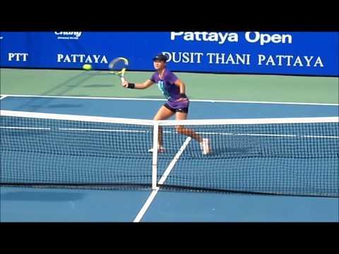 Super Slomo:  Volleys WTA Pro Woman
