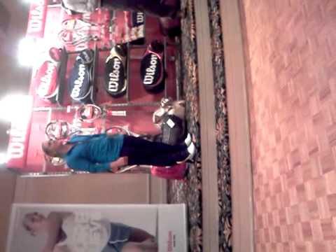 Wilson Demo Atlanta GA CoachV Melanie Oudin
