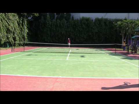 ITF Asia Open--Quarters Men's 45's J vs Jed