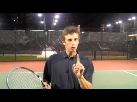 TENNIS VOLLEY | How To Hit A Tennis Volley