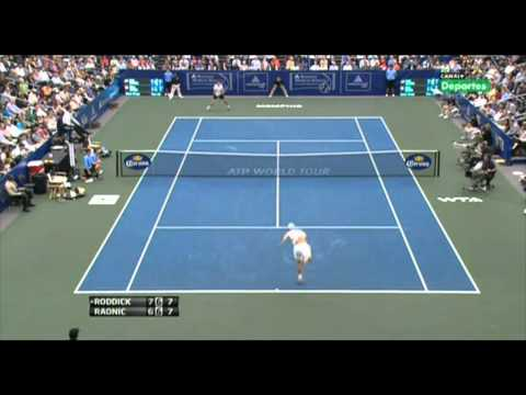Roddick VS Raonic : Memphis Final Highlights 2011