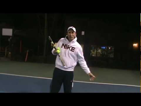 Beginner Tennis Lesson: The 4 Forehands of the Pros
