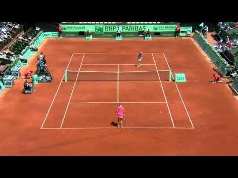 Roland Garros 2012 - Azarenka vs. Brianti