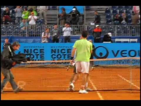 The Skills of Brian Baker - vs. Davydenko