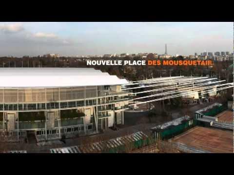 La Mairie de Paris présente son projet d'extension de Roland Garros