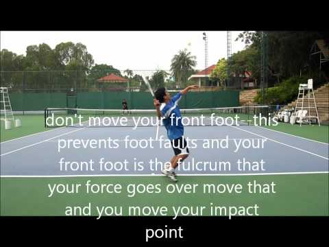 How to Hit the Pinpoint Serve